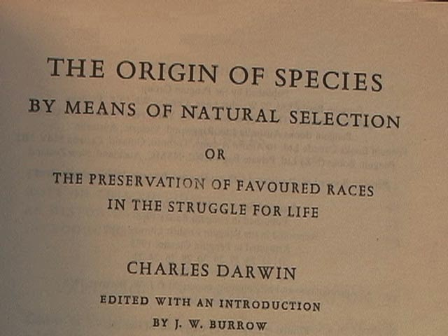 a history of the origin of species a revolutionary book by charles darwin Darwin's early adopters of course, was charles darwin's on the origin of species saw the book as a revolutionary scientific masterpiece.