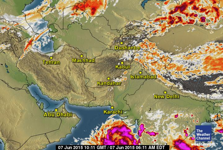 latest satellite image arabian sea cyclone june 2015