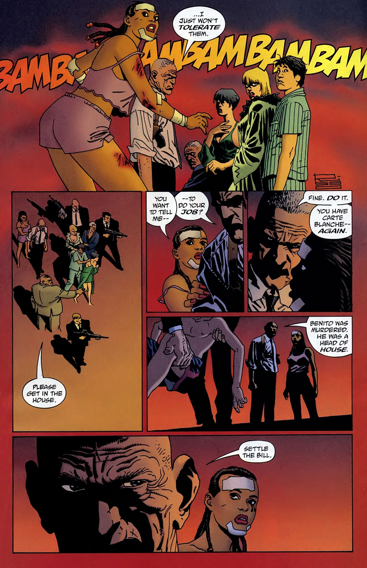100 Bullets Issue #100 Page 7