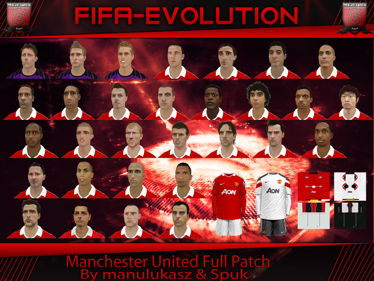FIFA 11 Manchester United Full Patch - Файлы - патч, демо, demo