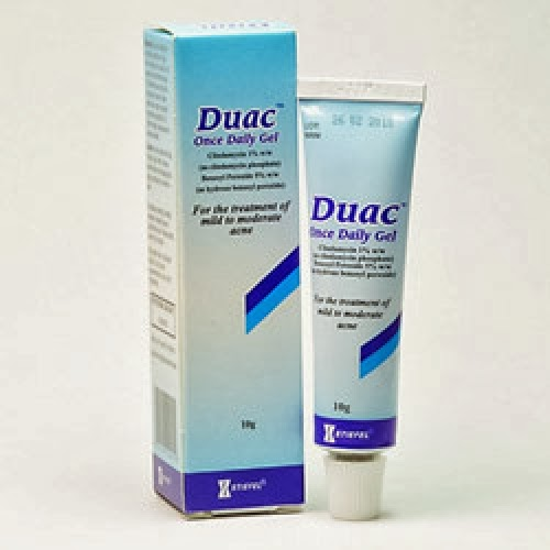 Duac acne gel price