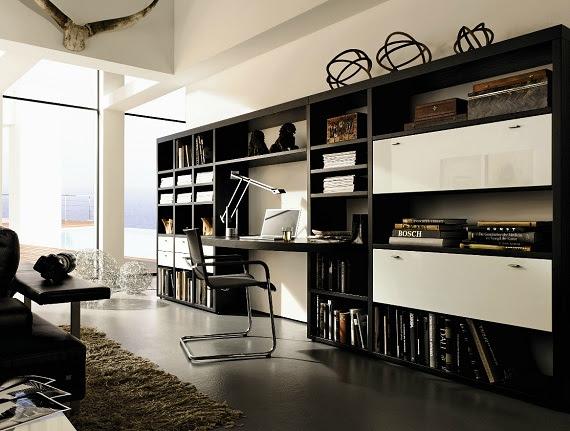 Studiomorado september 2012 for Libreria con scrivania incorporata