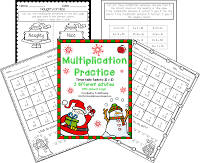 https://www.teacherspayteachers.com/Product/Free-Christmas-Multiplication-Practice-1547425