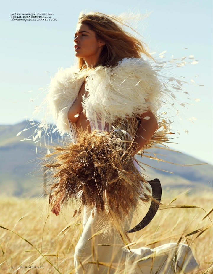 Doutzen Kroes By Paul Bellaart For Vogue Netherlands September 2013