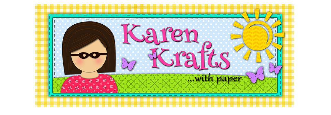 Karen Krafts With Paper