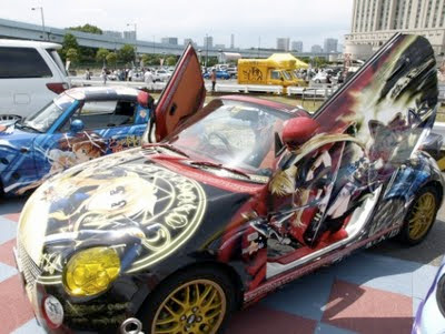 Itasha: Otaku Car Modification