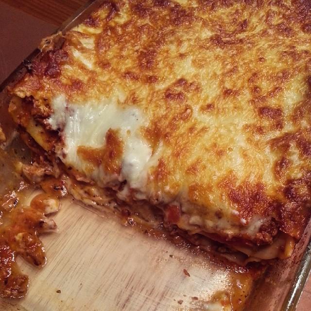 aus meiner Küche: Lasagne