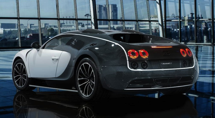 「ブガッティ・ヴェイロン」をベースにしたコンプリートカー「Bugatti Veyron Vivere」