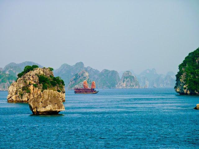 Bahia de Ha Long, Vietnam