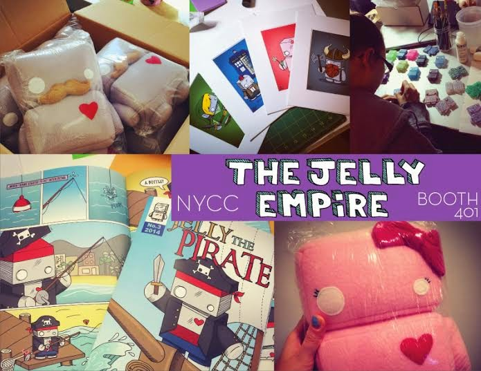 The Jelly Empire's New York Comic Con 2014 Exclusives