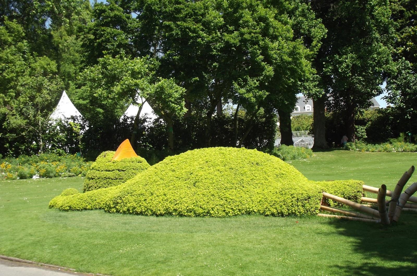 Le voyage nantes 2013 1 le jardins des plantes bull for Jardin des plantes nantes
