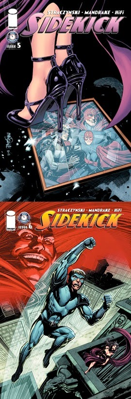 Sidekick # 4, 5 6 - J M Straczynski Tom Mandrake