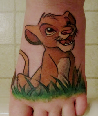 King Lion Rei Leão Tattoo