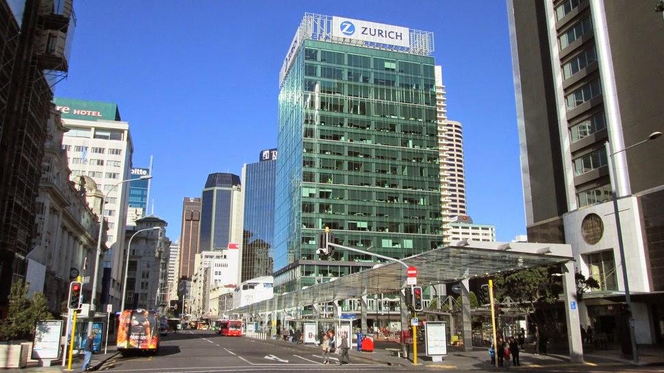 Britomart Centre des transport à Auckland