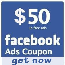 free 50$ Facebook Coupon Code 2012