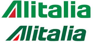 Logo Alitalia prima e dopo restyling