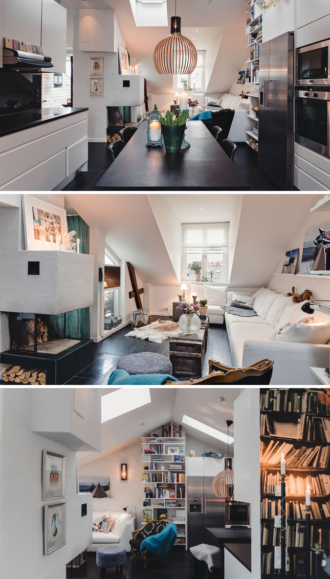 Apartamento-na-Suécia-pouco-espaço-e-lindo