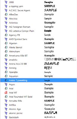 Download Macam Macam Font