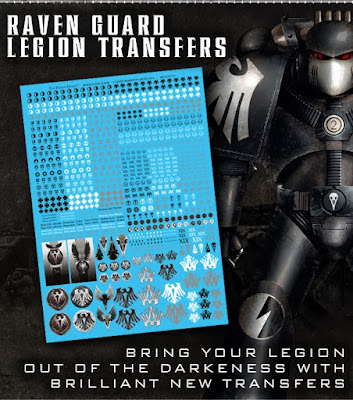 Raven Guard Transfer Sheet