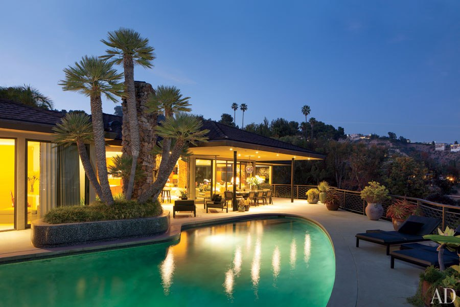 New Home Interior Design Steven Meisel 39 S Midcentury House
