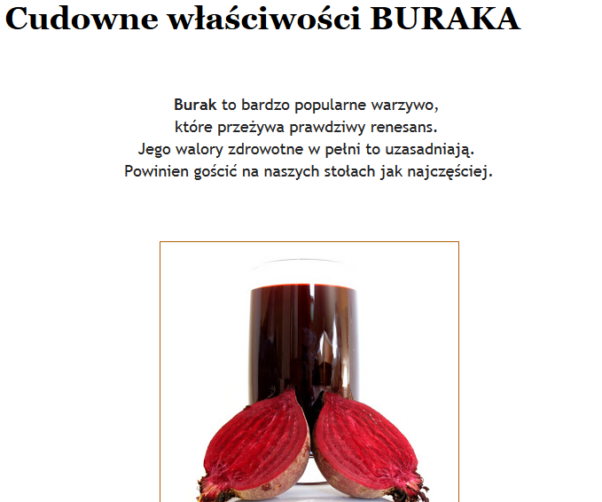 http://maratonizdrowie.blogspot.com/2012/12/cudowne-wasciwosci-buraka.html