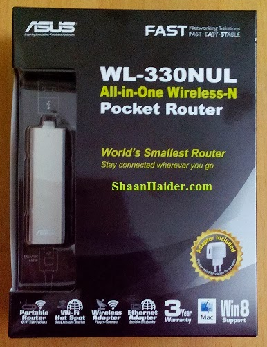 ASUS WL-330NUL Pocket Router Hands-On Review