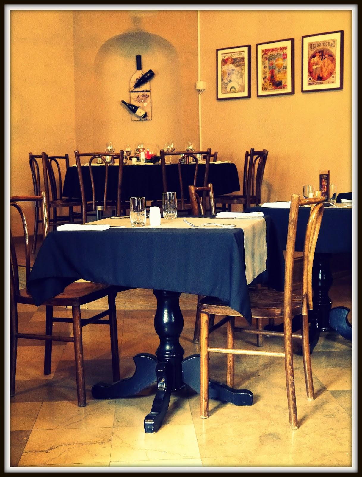 Brasserie sztuka, sala główna