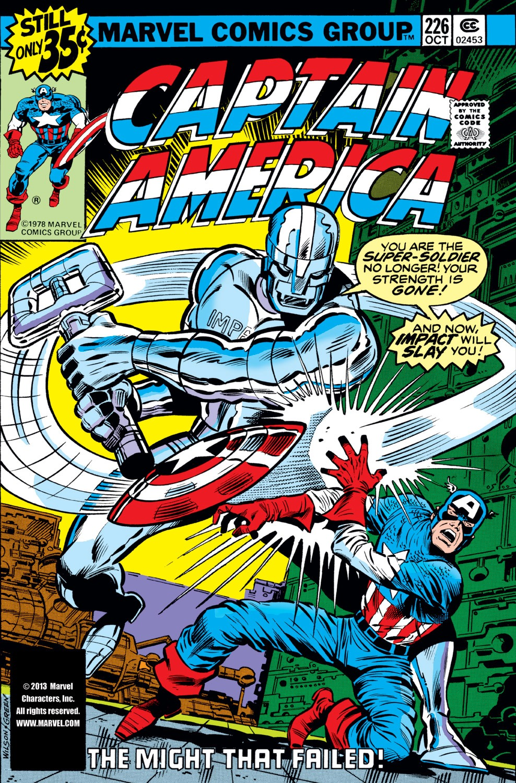 Captain America (1968) Issue #226 #140 - English 1