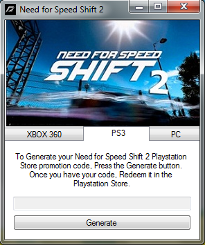 nfs shift 2 unleashed activation key free download