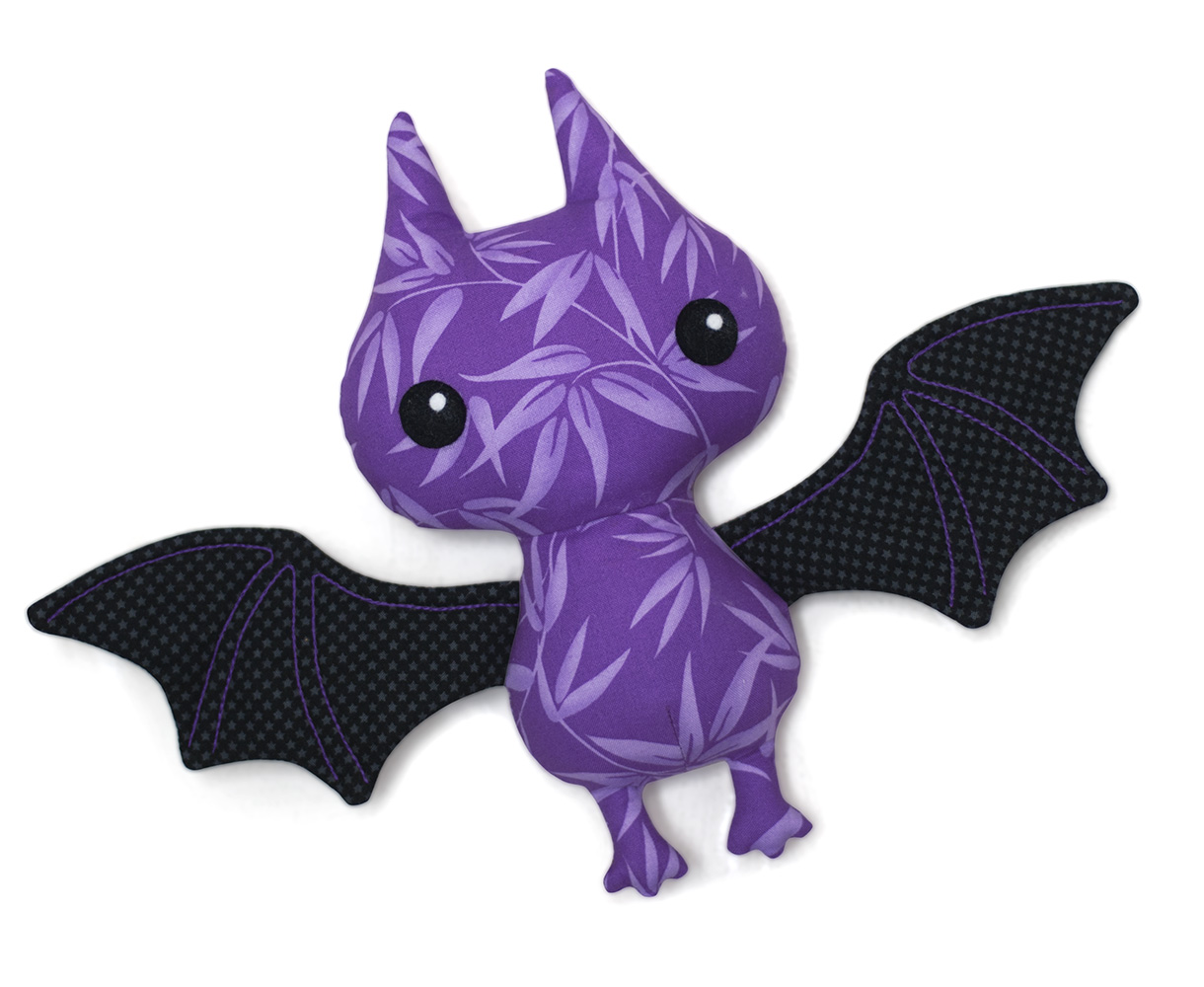 bat plush sewing pattern