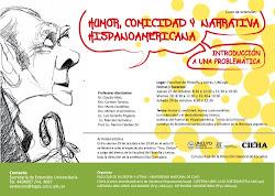 CURSO DE EXTENSIÓN: HUMOR, COMICIDAD Y NARRATIVA HISPANOAMERICANA.