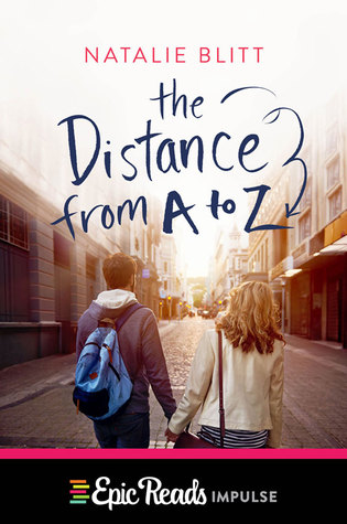 The Distance from A to Z book cover