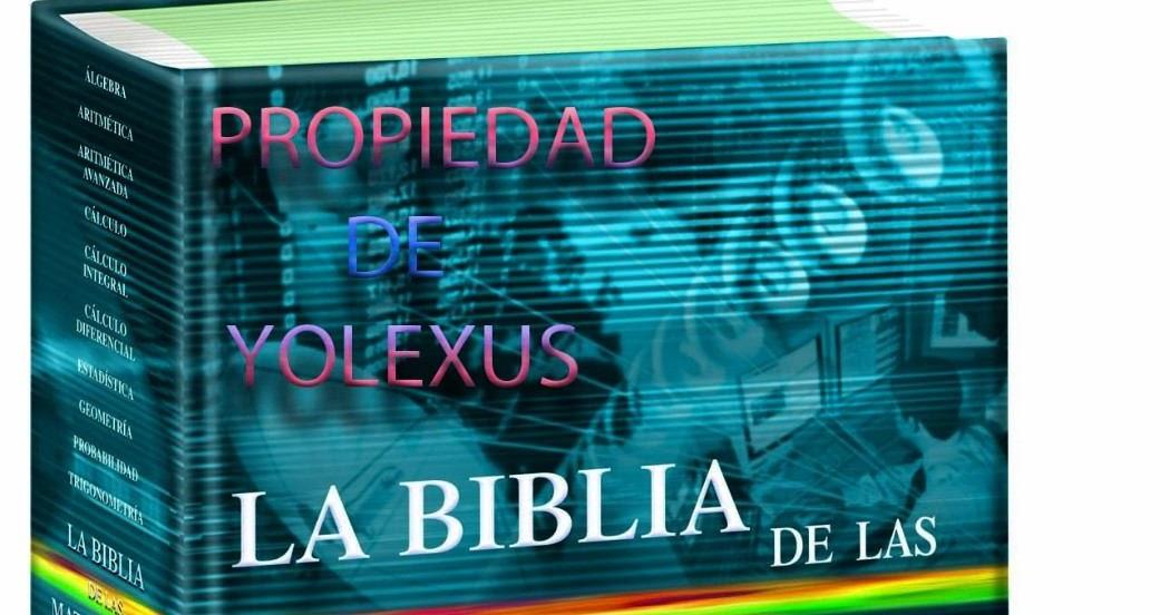 CREDILIBROS  LA BIBLIA DE LAS MATEM u00c1TICAS CON CD ROM