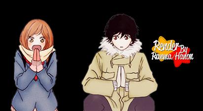Render Futaba y Kou