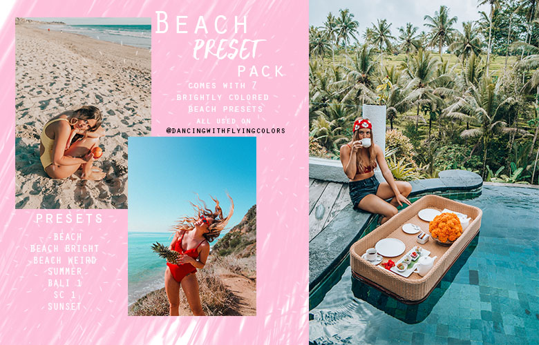 Beach Preset Pack
