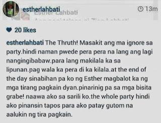 Esther Lahbati Instagram post