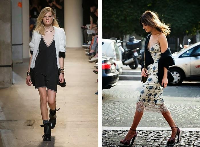 slip, lingerie dress, fall 2013, fashion trend, knitwear