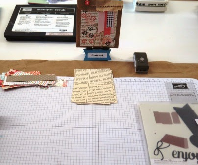 Thinlits to make a trash bag zena kennedyindependent stampin up demonstrator