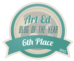 Art Ed Blog of the Year 2012