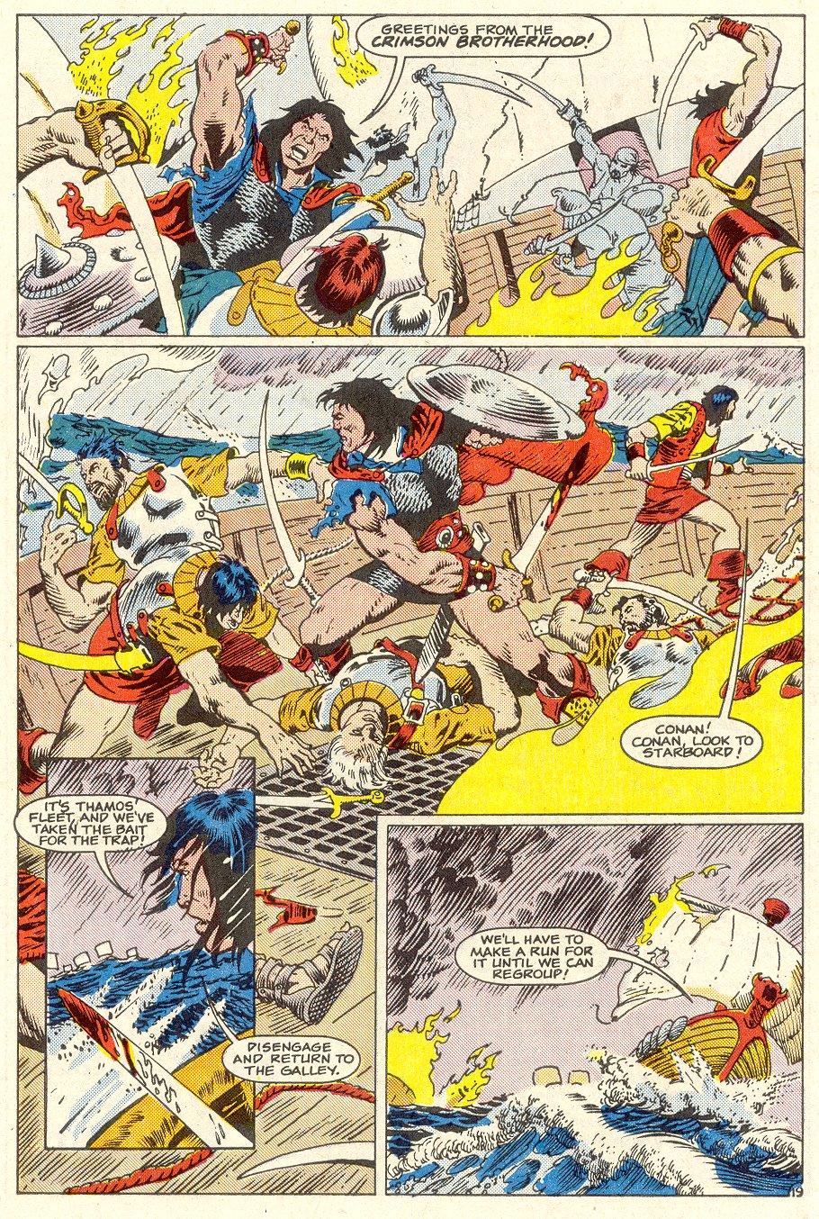 Conan the Barbarian (1970) Issue #186 #198 - English 20