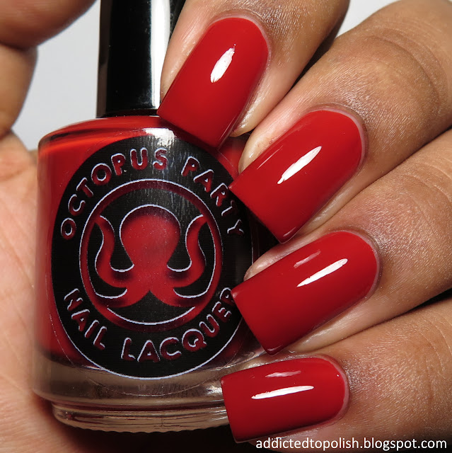 octopus party nail lacquer universal loner creme a la mode box