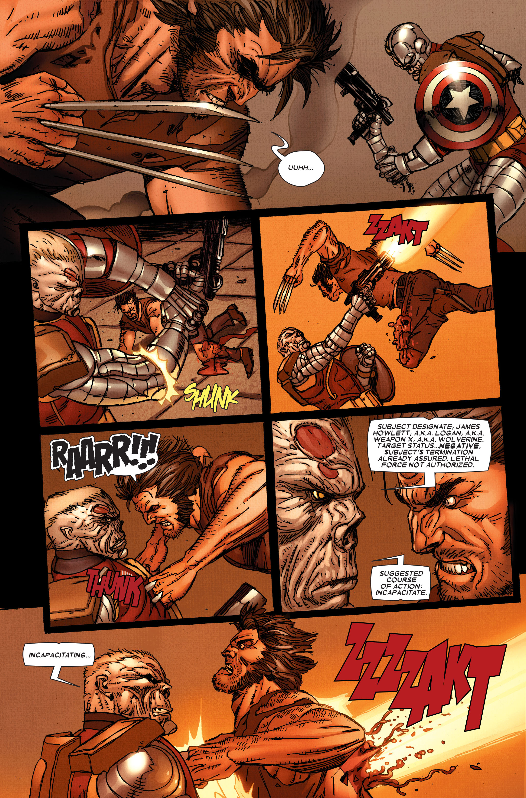 Wolverine: Weapon X #12 #5 - English 17