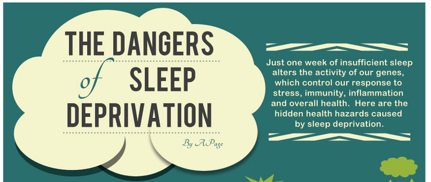 Sleep Deprivation Can Be A Dangerous Thing – Find Out Why