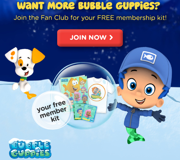 guppies fan club join the bubble guppies fan club receive a free title=