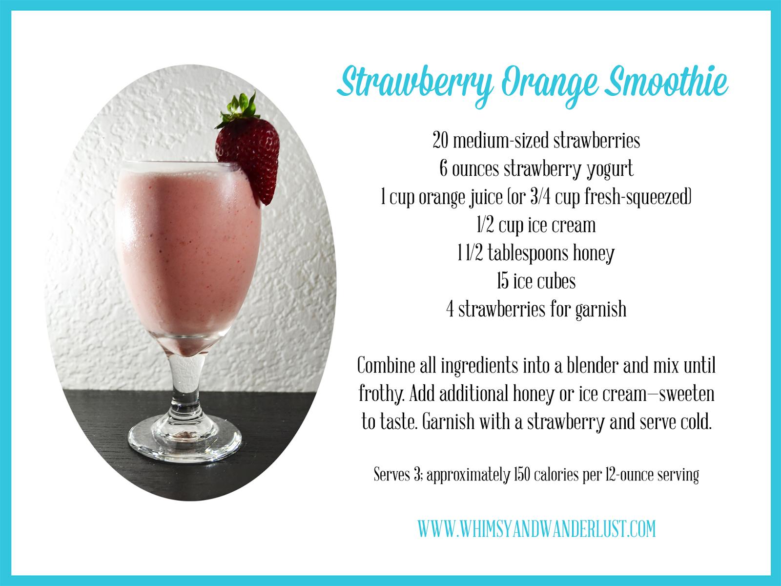 http://www.whimsyandwanderlust.com/2014/02/strawberry-orange-smoothie-recipe.html