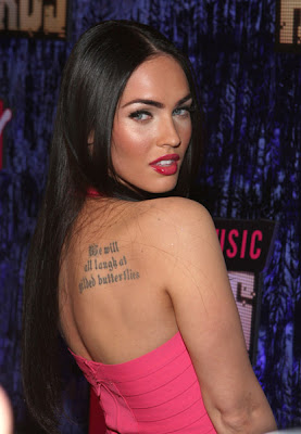 Megan Fox Tattoos, Megan Fox Photos, Megan Fox Makeup, Megan Fox Hair