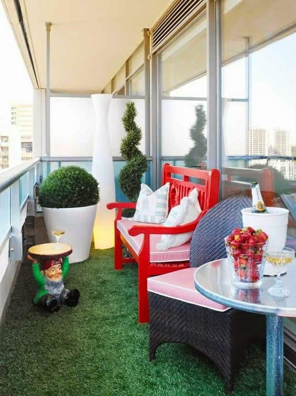 Fotos de terrazas peque as y cerradas colores en casa for Fotos terrazas pequenas
