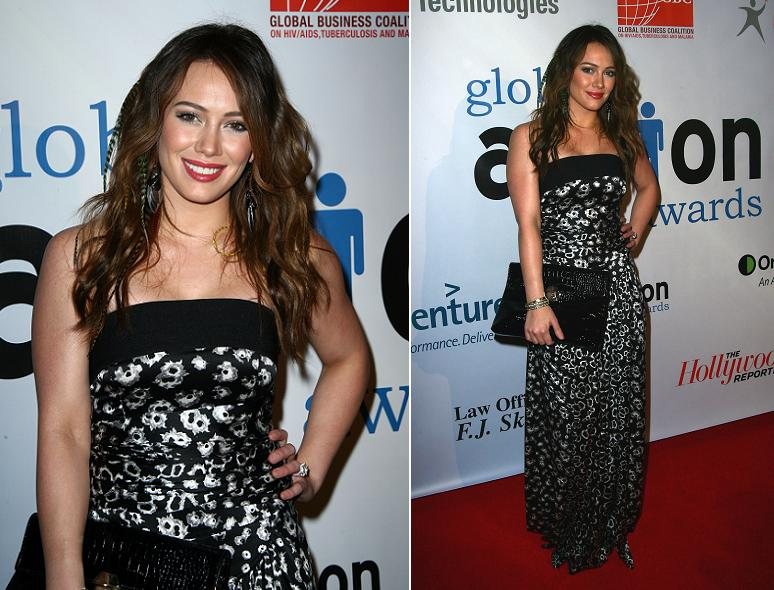 Hilary Duff Photos At The 2011 Global Action Awards