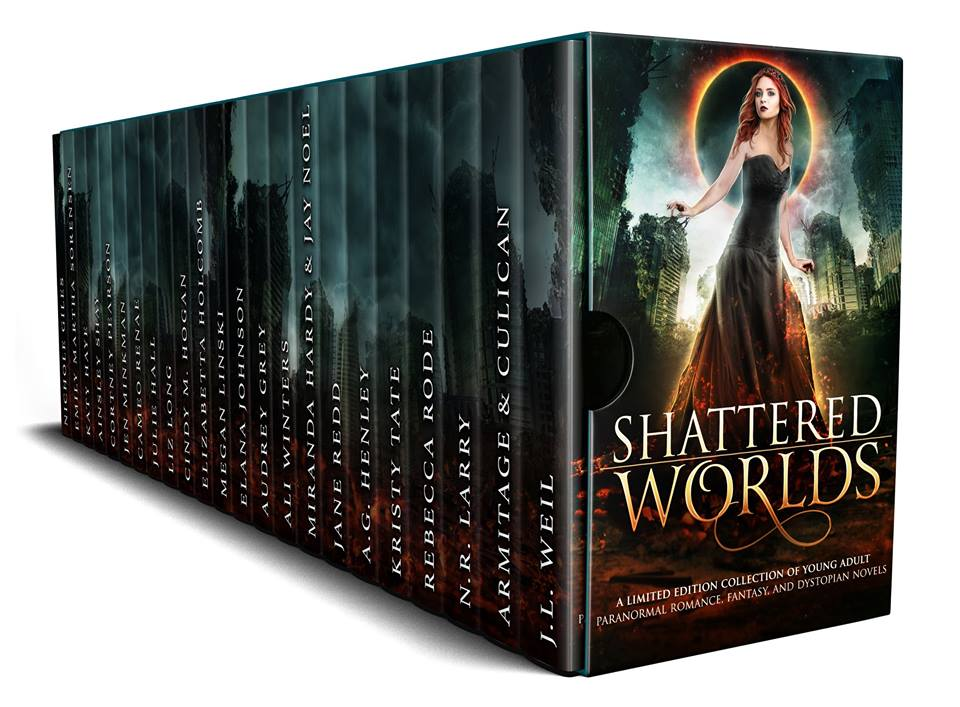 Sea So Blue exclusively in the Shattered Worlds Boxed Set