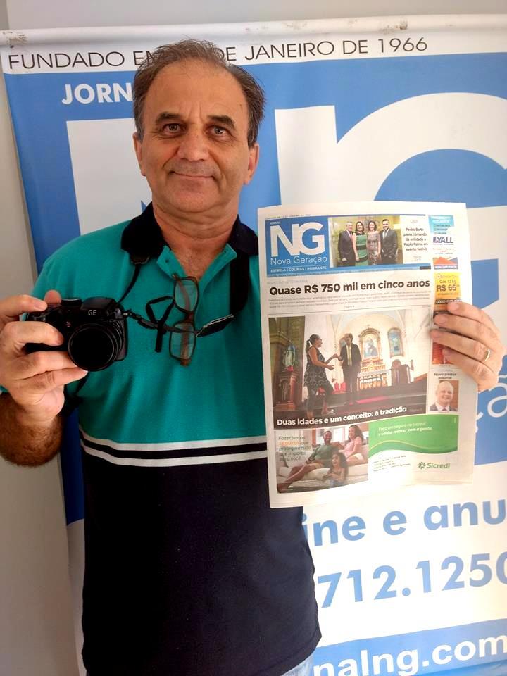 Airton Engster dos Santos no NG